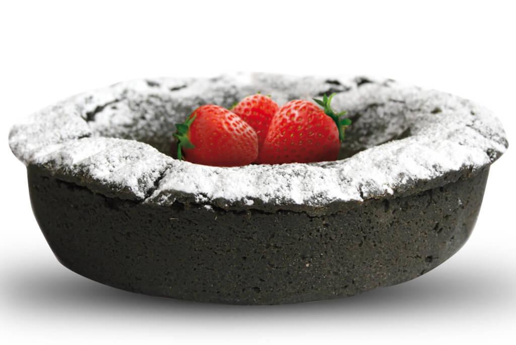 Crostata carbone vegetale