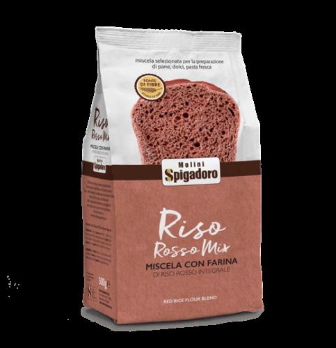 Mix Farina Riso Rosso front