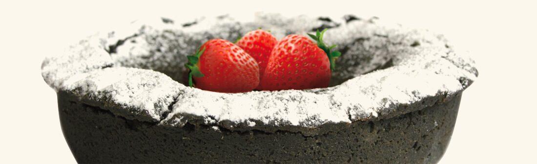 carbone vegetale torta