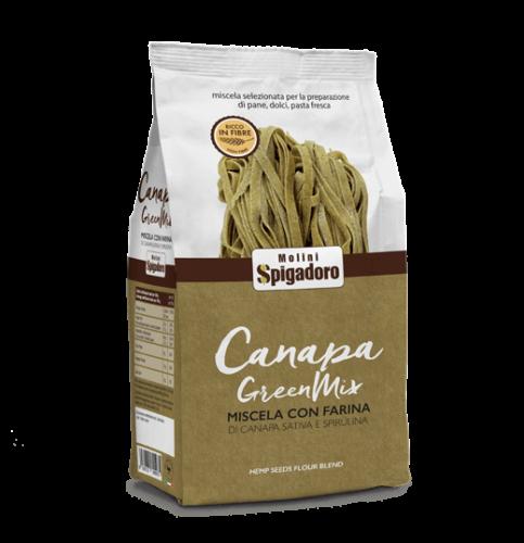 Mix Farina Canapa Sativa Green rear