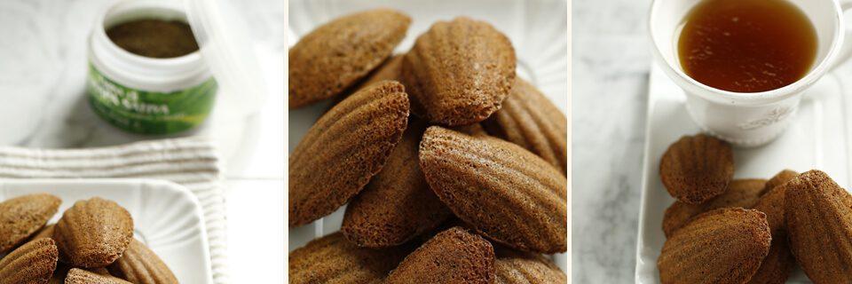 madaleins senza glutine e farina di canapa
