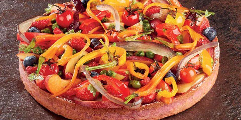 crostata frutta e verdura