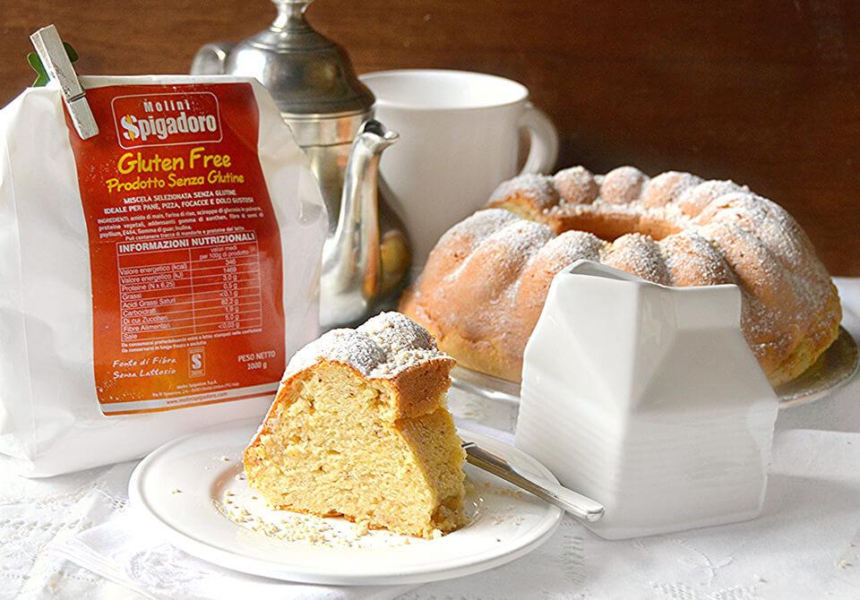 torta alla ricotta gluten free