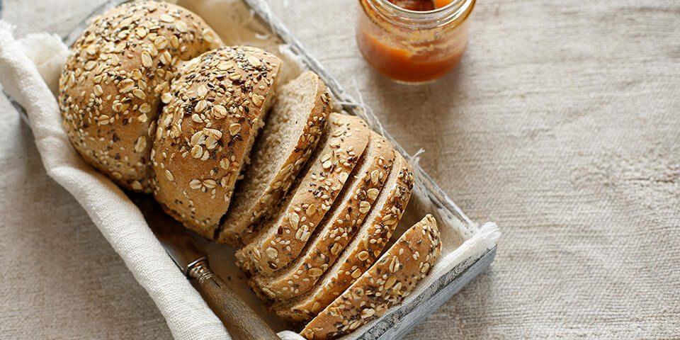 pane con fiocchi avena e semi