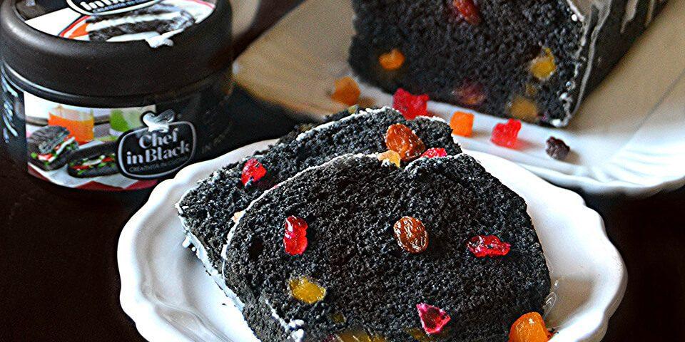 Plumcake al carbone vegetale