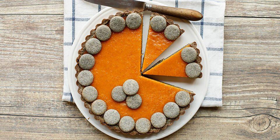 ricetta-pumpkin-cake-con-farina-nero-mix