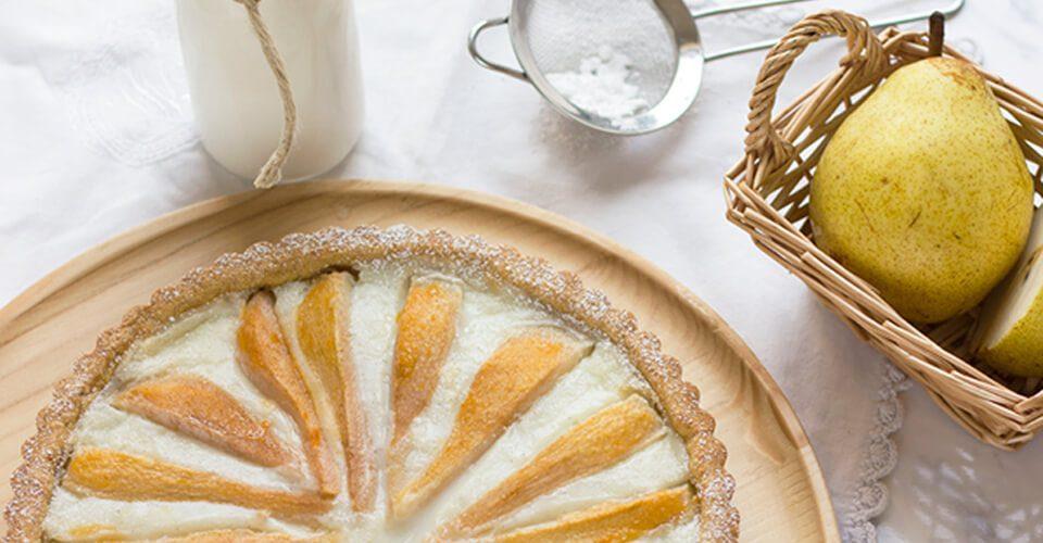 Crostata di pere ricetta