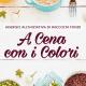 iniziativa a cena con i colori