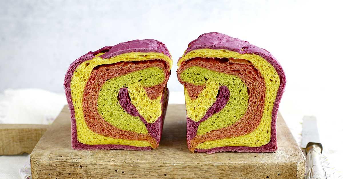 preparazione pane in cassetta