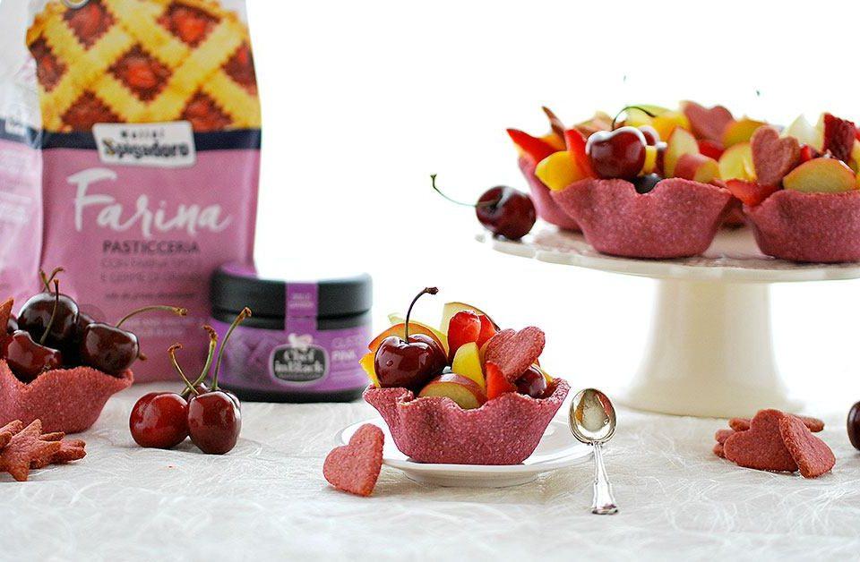 cestini di frutta senza zucchero