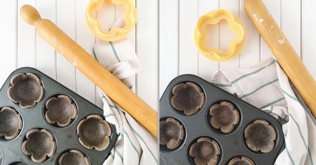 preparazione biscotti brise